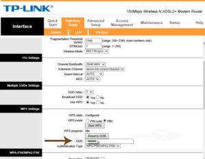 SSID TP-link