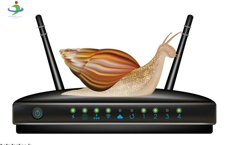 عوامل تاثیرگذار در کندی شبکه وای فای